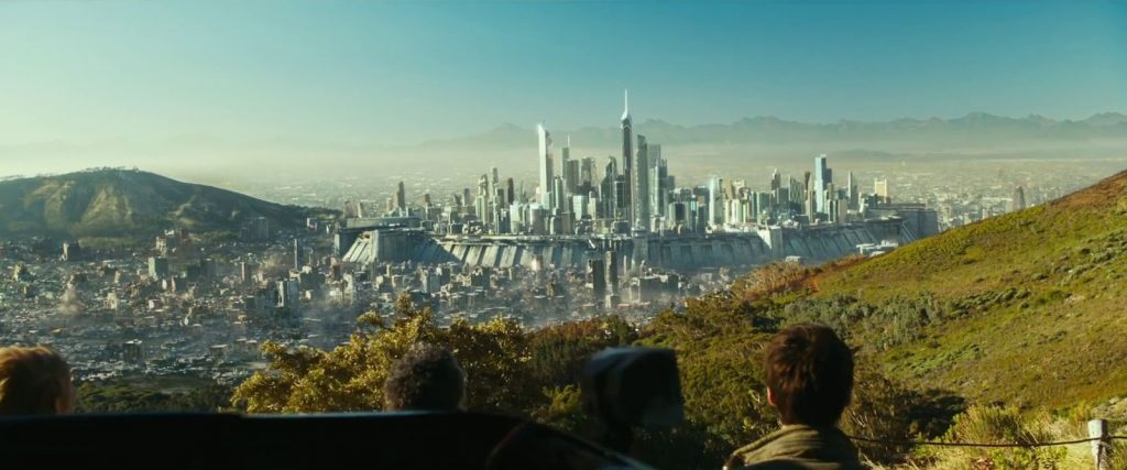 the walled 'Last City' in Maze Runner: The Death Cure
