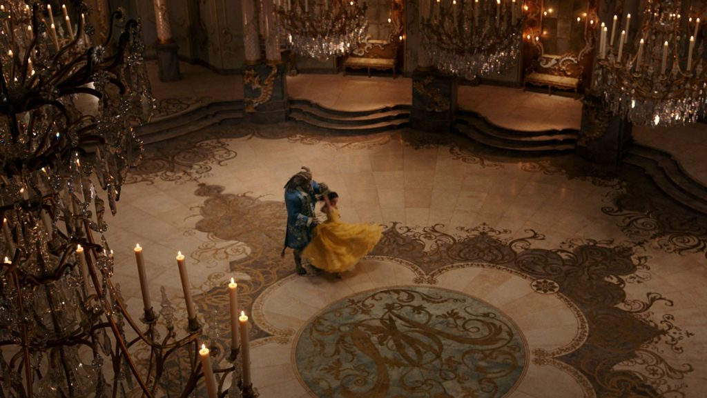Beauty and the Beast, Ballroom production design set decoration film set