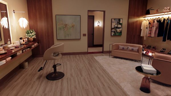 #FFFind: The painting and wall lights in Ana's closet in Fifty Shades