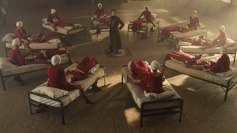 the handmaids tale film set design
