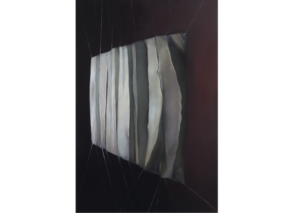 Leonard, Stephanie_The Curtain of Imprinted Memories_oil on canvas-art-from-fifty-shades