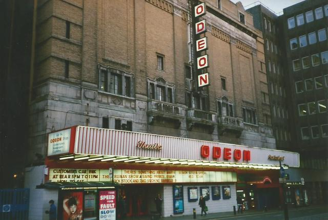The Odeon, Newcastle in the 1970s