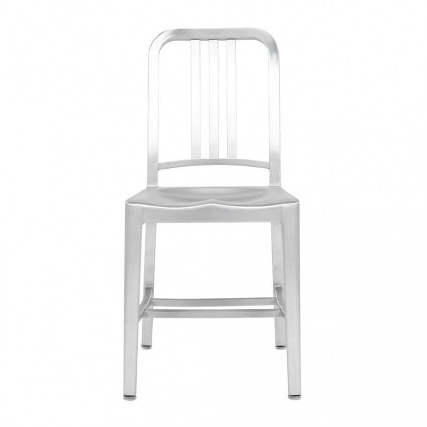 The 1006 Navy chair aluminium furniture design classics in the movies