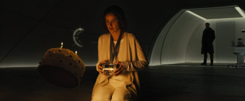 Dr. Ana Stelline creates memories for replicants using the Memory Orb