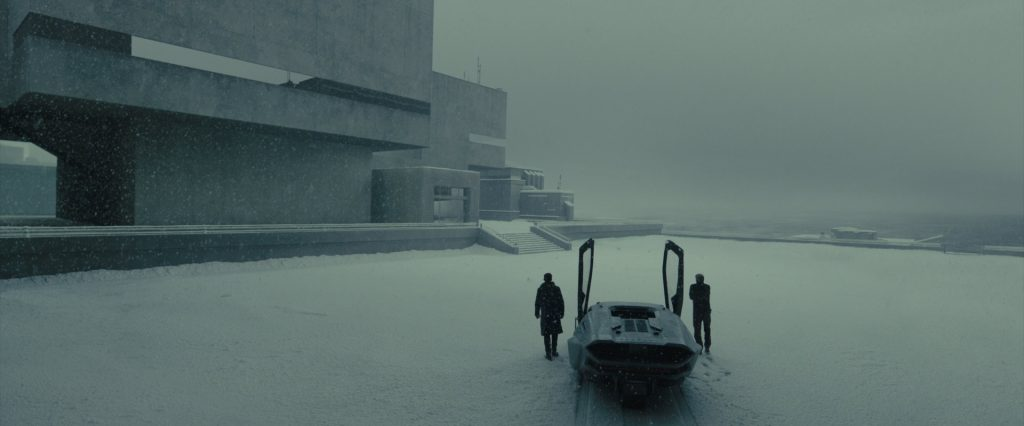 The Stelline brutalist building in Blade Runner 2049