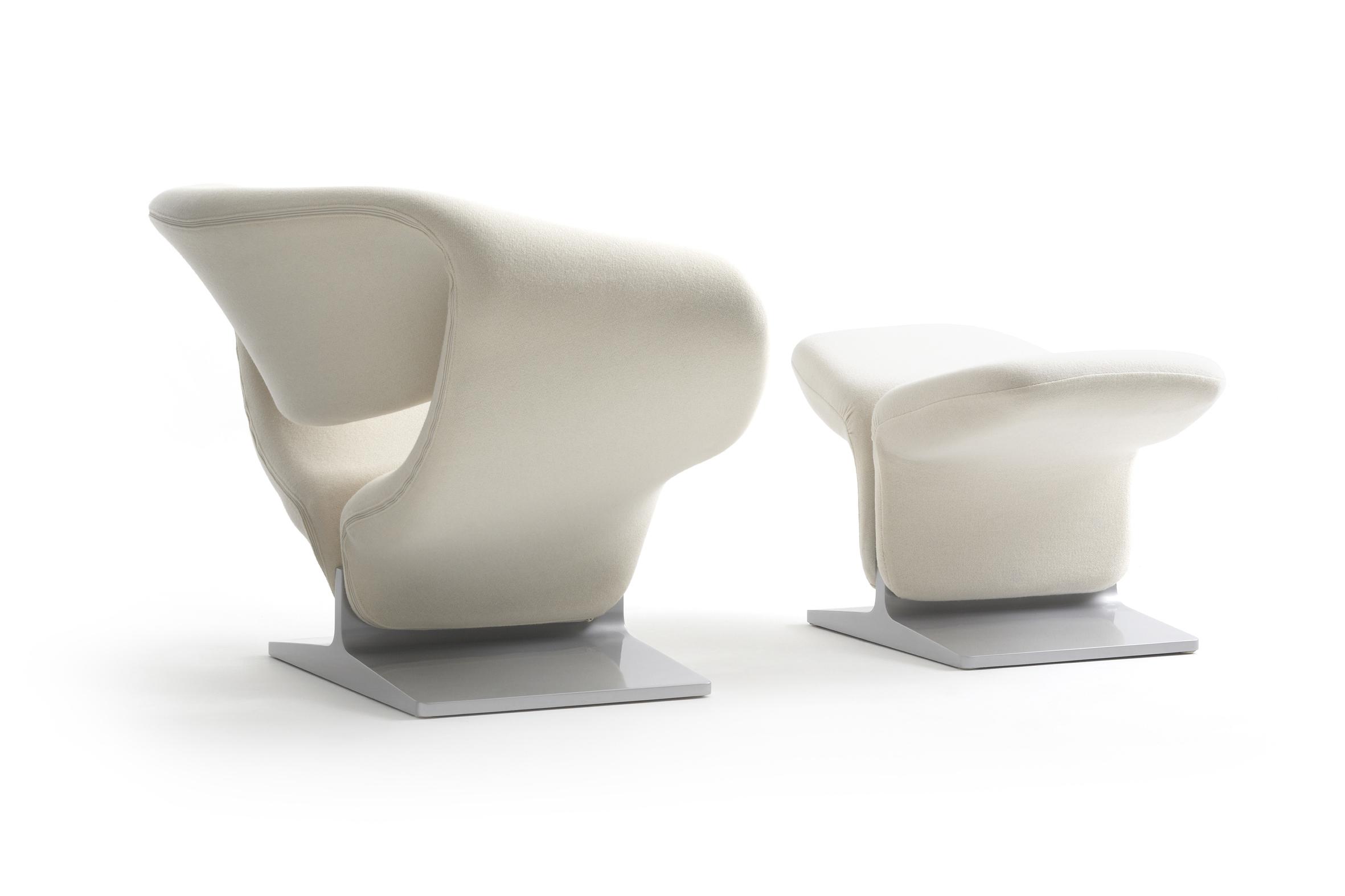 The Pierre Paulin ribbon chair by Artifort