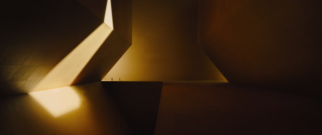 The Wallace Corporation building in Blade Runner 2049