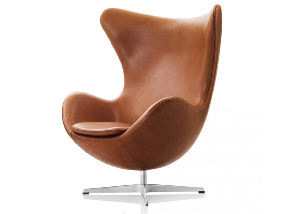 Arne Jacobsen's Egg Chair in Elegance Leather