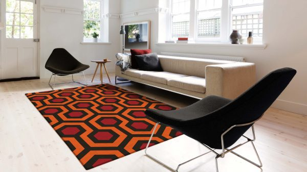 Make your home shine… Presenting The Shining officially licensed luxury rugs and runners