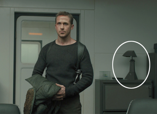 E63 Table Lamp as seen in Blade Runner 2049