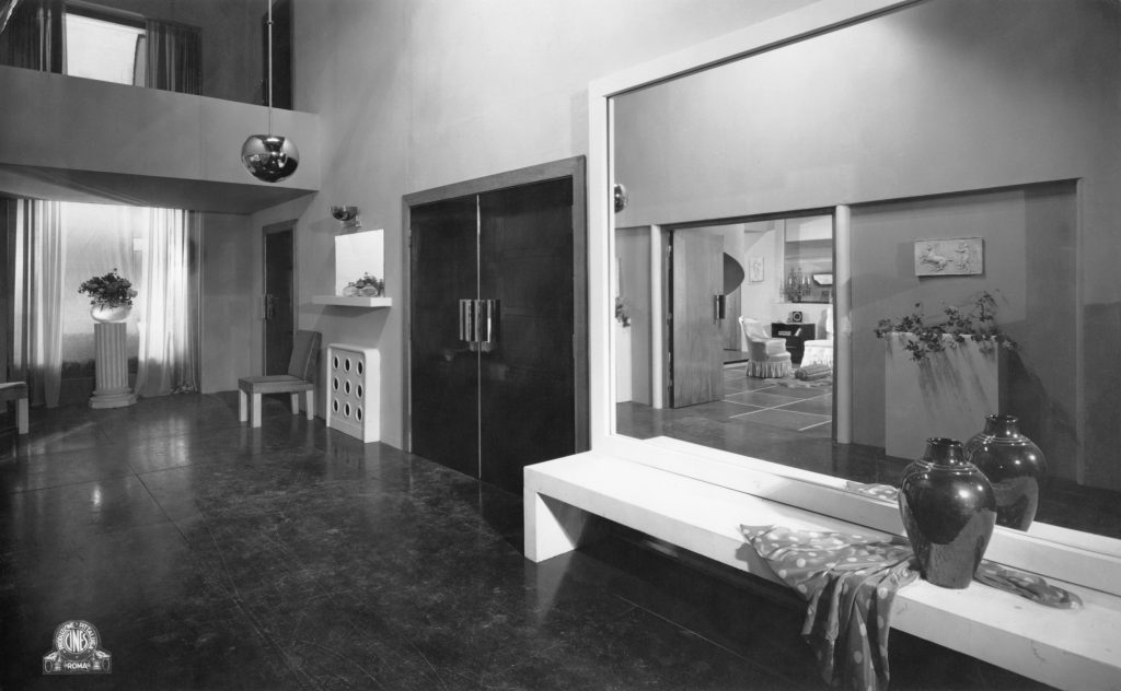rationalism on set Italian film set design