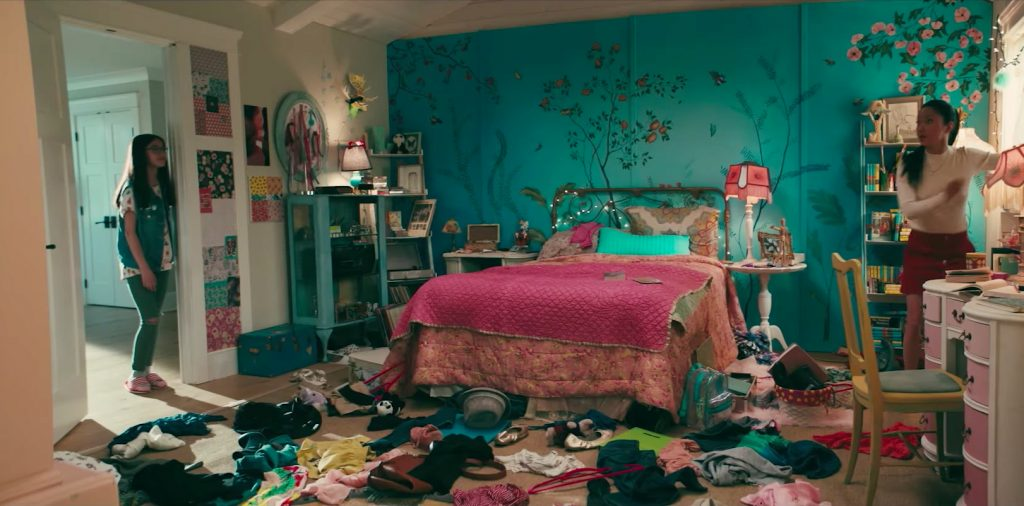 Lara Jean's bedroom in To All The Boys I've Loved Before