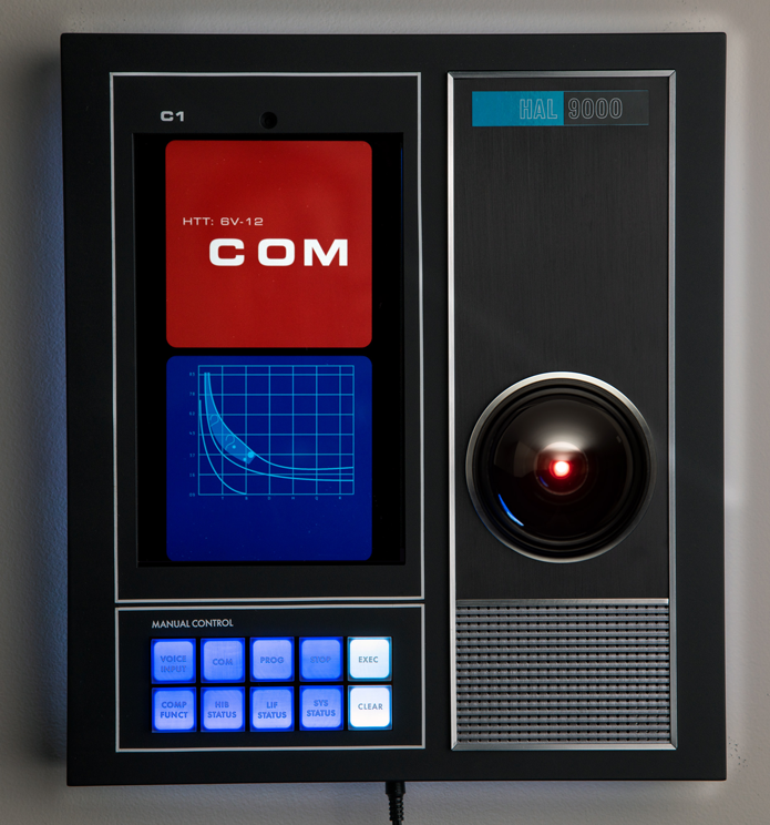 HAL computer replica 9000 with Command Console Limited Edition