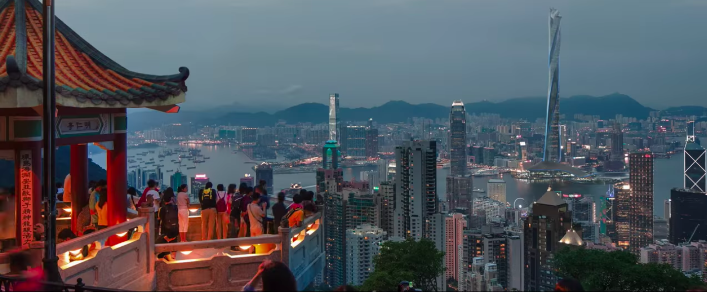 skyscraper film set