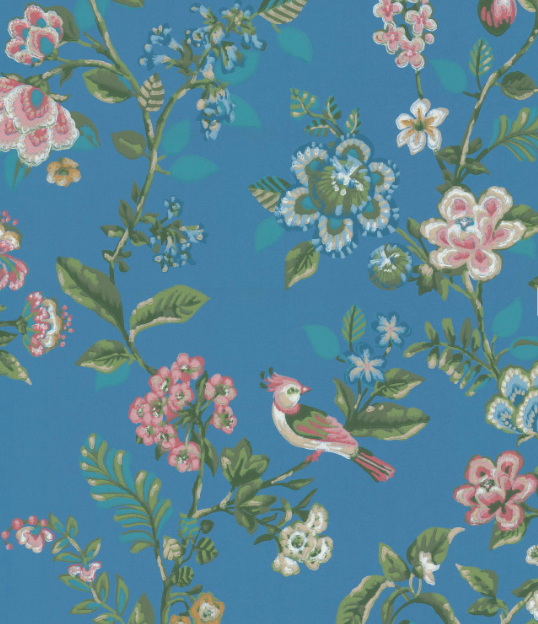 Botanical Print by Pip Wallpaper, £144 per roll. Available from Wallpaper Direct