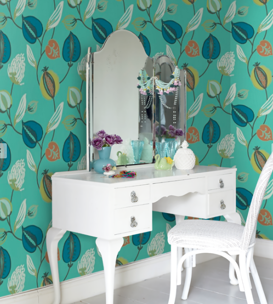 Tembok byHarlequin. Available from Wallpaper Direct