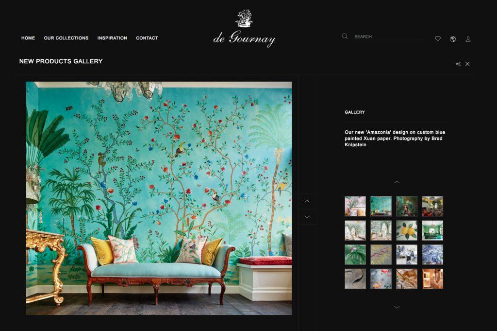 De Gournay's Amazonia design
