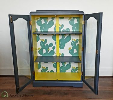 1950s display cabinet currently for sale on Etsy