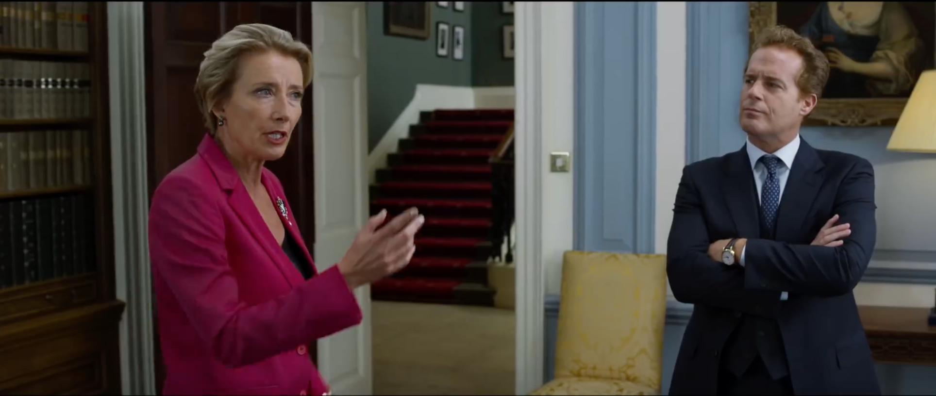 Image result for emma thompson johnny english strikes again