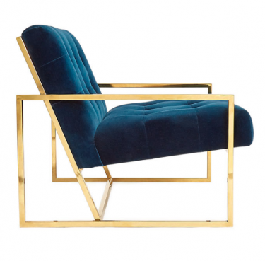 Goldfinger lounge chair available from Jonathan Adler