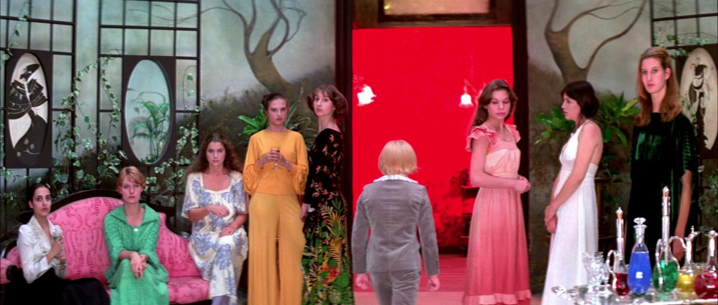 suspiria film sets colour multicoloured