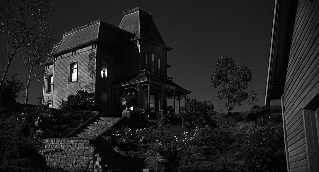 """Psycho House"". The Bates Motel in Psycho."