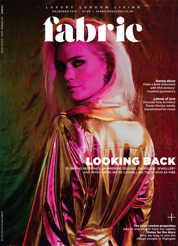 fabric magazine cover