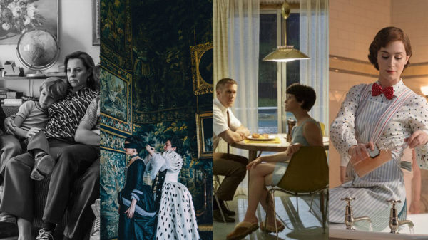 Spotlight on the art and design nominations in the Oscars, BAFTAs, ADG and BFDG Awards 2019