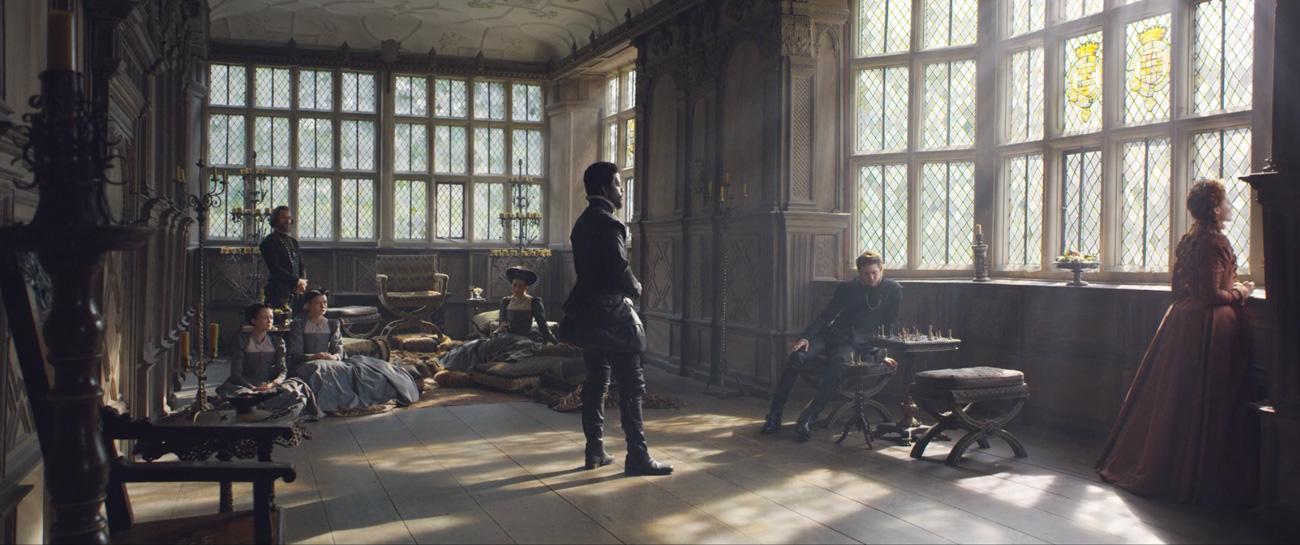 Hampton Court scenes mary queen of scots
