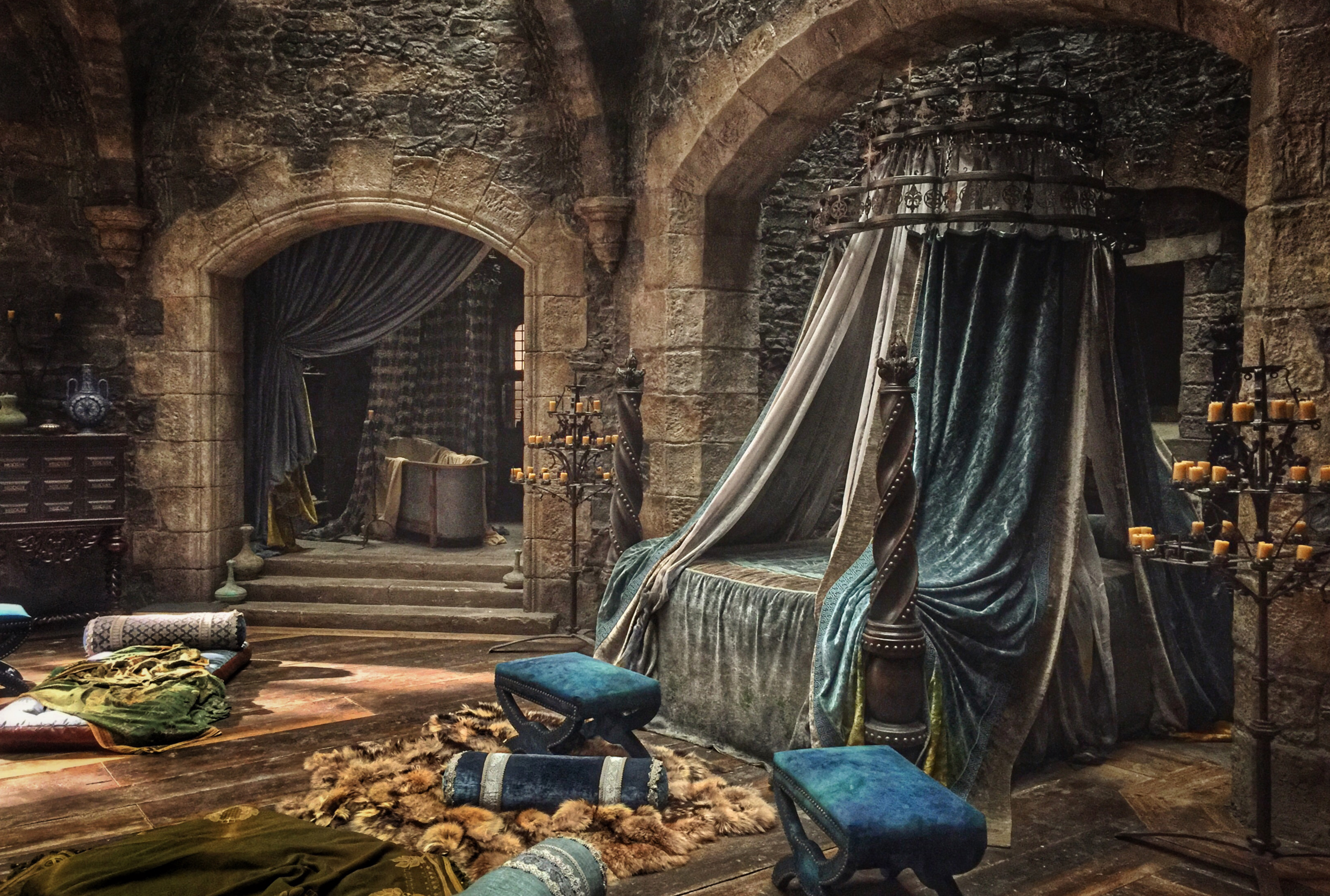 Mary's bedchamber Mary queen of scots