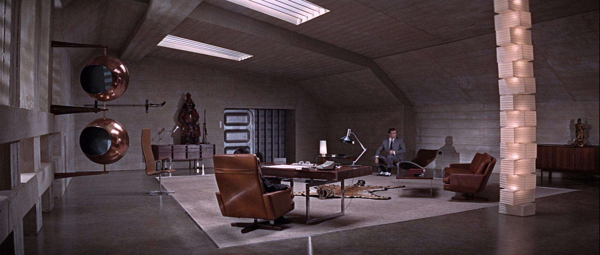 bond your only live twice office set design