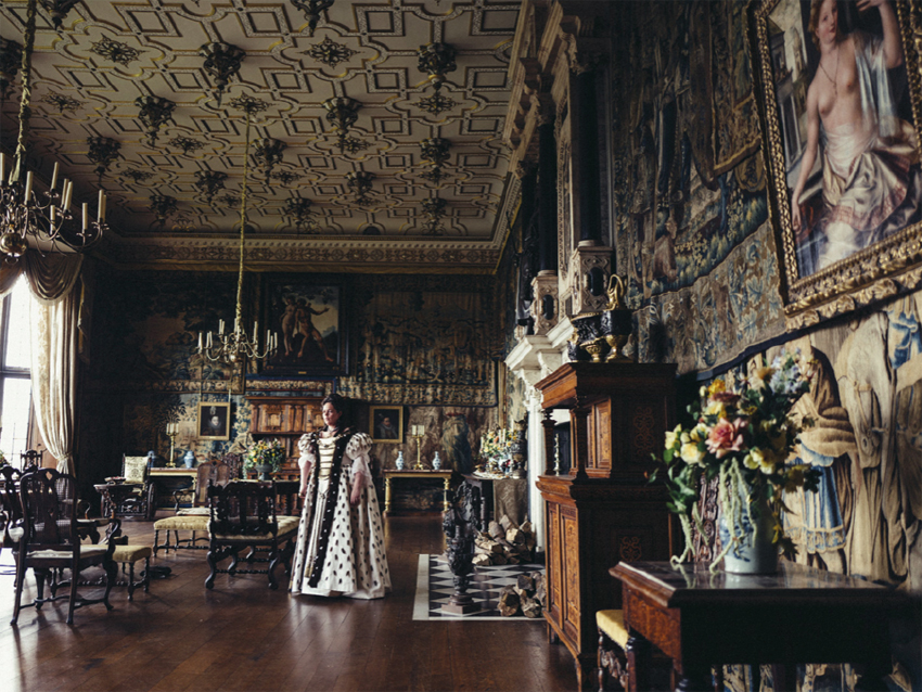 queen anne production design the favourite
