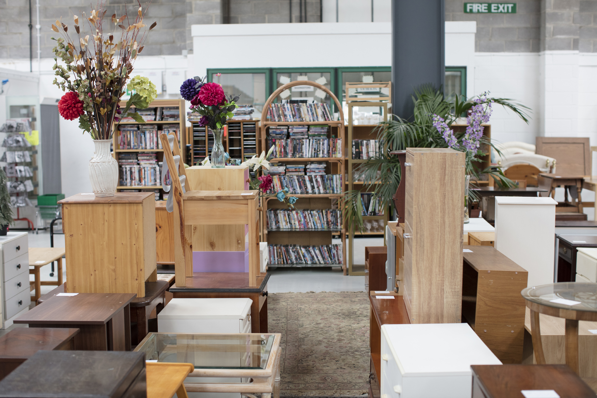 A Reuse Network member's furniture warehouse