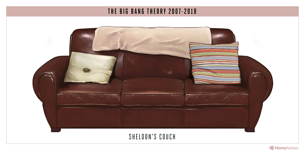 Stupendous The Semiotics Of Sitcom Sofas Or How These Iconic Couches Theyellowbook Wood Chair Design Ideas Theyellowbookinfo