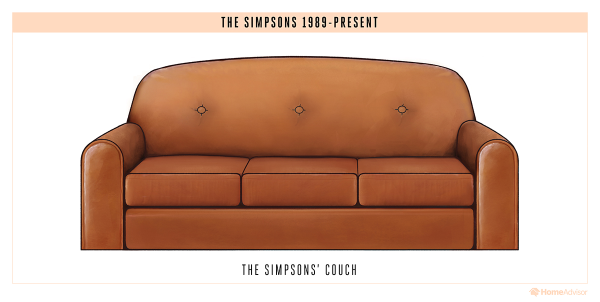 tv sitcom sofas chairs couch