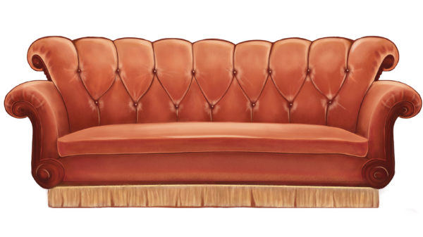 The semiotics of sitcom sofas (or How these iconic couches wormed their way into your memories)