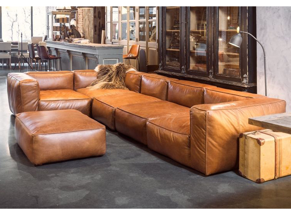 Terrific Mags Soft Sofa In Leather As Seen In Ready Player One Film Bralicious Painted Fabric Chair Ideas Braliciousco