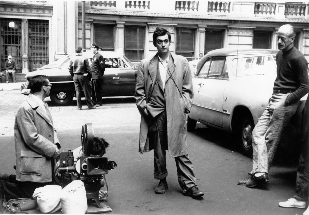 Stanley Kubrick during the filming of Killer's Kiss