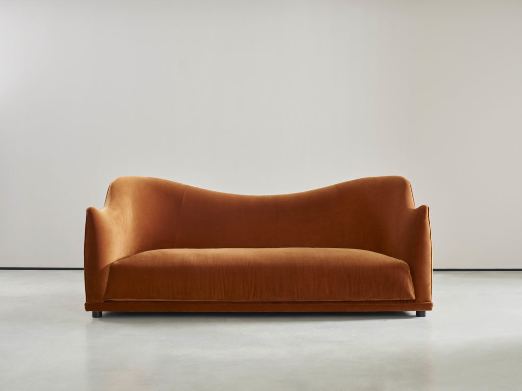 The Tilda sofa designed by 2LG. Available from