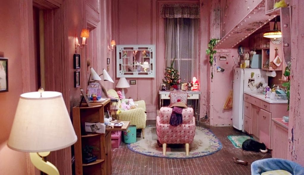 Catwoman/Selina's (Michelle Pfeiffer) apartment in Batman Returns