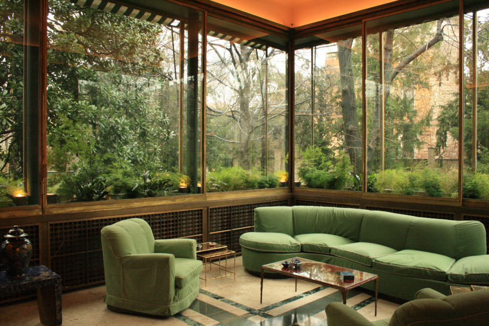 Interior of Villa Necchi