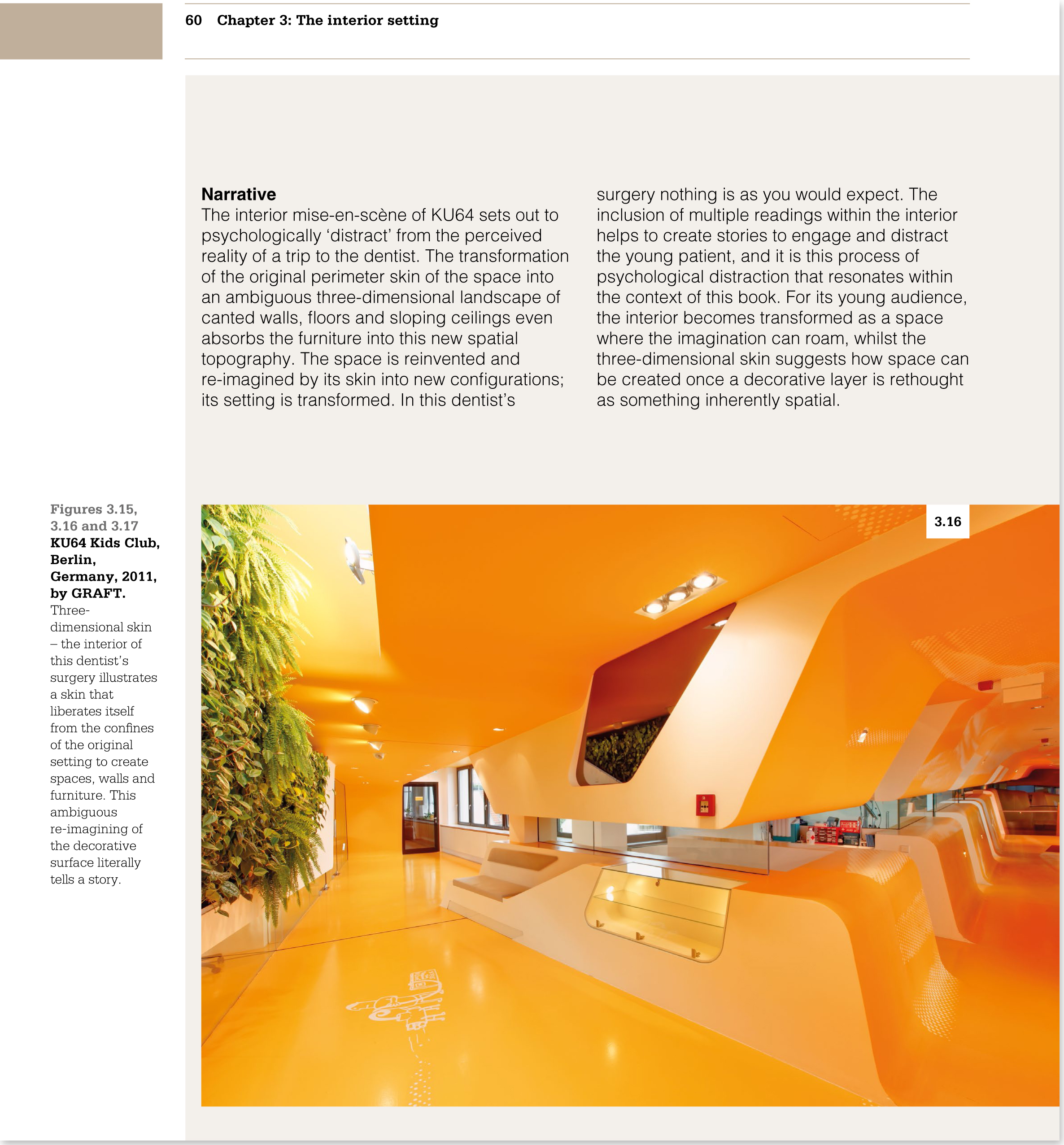 Page from Creating Interior Atmosphere, Mise-en-scène and Interior Design