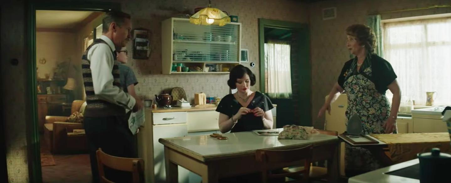The kitchen film set of Elton John's Pinner home in Rocketman filmsets