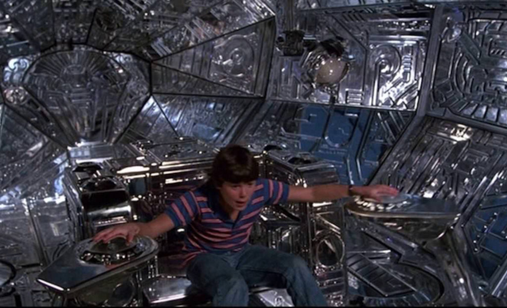 spaceship interiors in film
