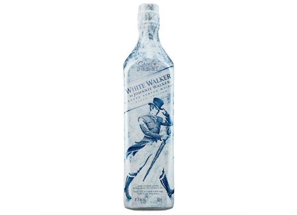 Game of Thrones Johnnie Walker White Walker whisky
