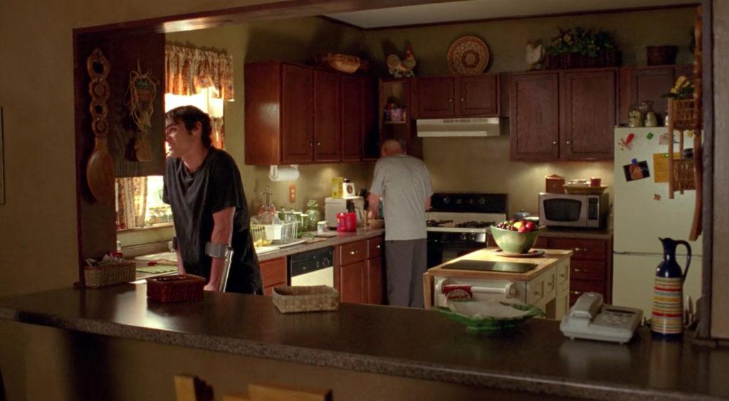 Walter White's kitchen in Breaking Bad