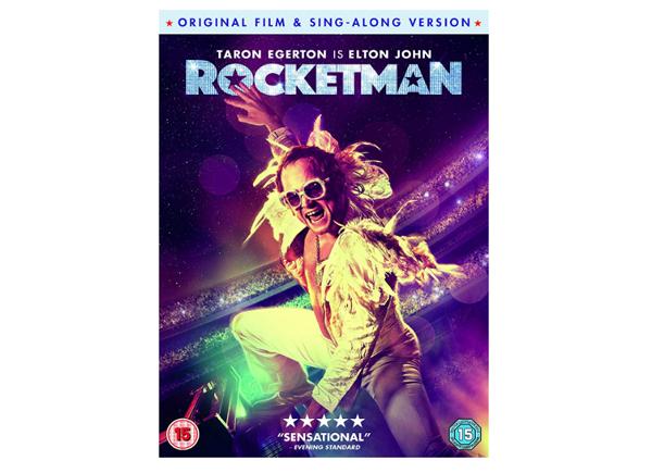 Rocketman Dvd Bluray 4k Ondemand Film And Furniture