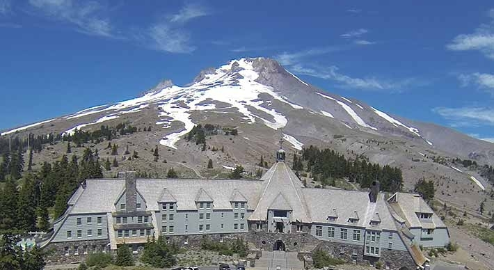 The Timberline Lodge today