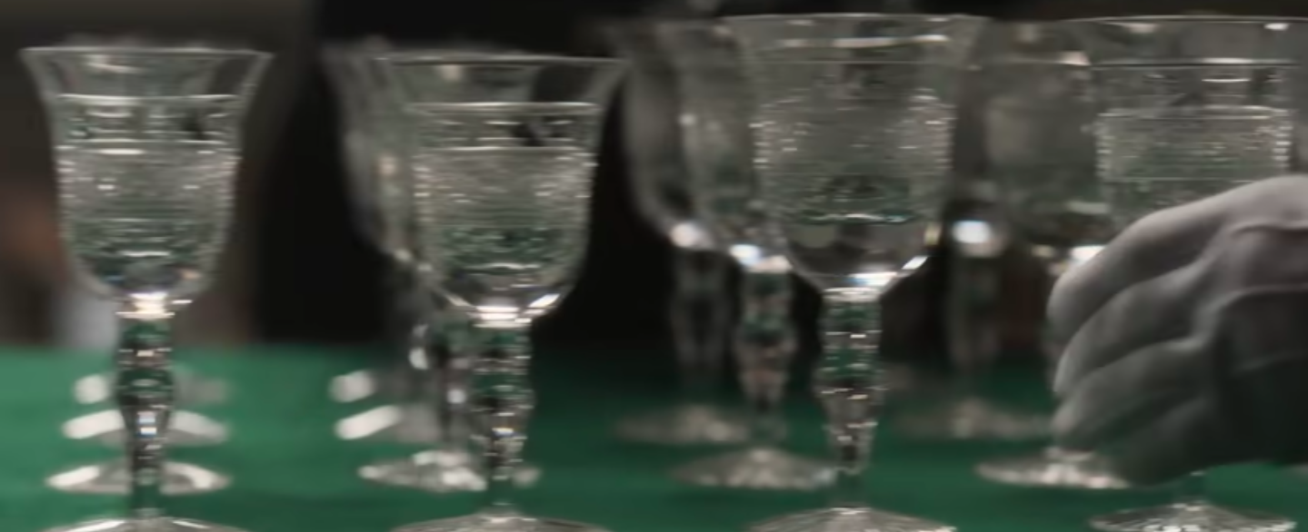 Downton Abbey glassware