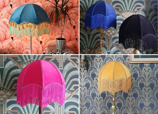 fringed lampshade downton abbey
